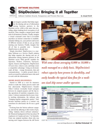 Maritime Logistics Professional Magazine, page 53,  Q3 2011 banking