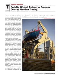 Maritime Logistics Professional Magazine, page 59,  Q3 2011 Julie K. Keim
