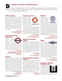Maritime Logistics Professional Magazine, page 60,  Q3 2011 Louisiana