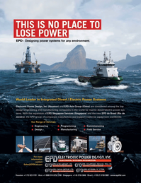 Maritime Logistics Professional Magazine, page 4th Cover,  Q3 2011