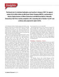 Maritime Logistics Professional Magazine, page 16,  Q4 2011 United Nations