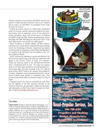 Maritime Logistics Professional Magazine, page 17,  Q4 2011 Connecticut