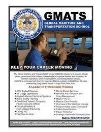 Maritime Logistics Professional Magazine, page 2nd Cover,  Q4 2011