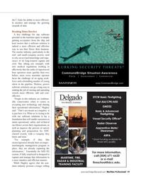 Maritime Logistics Professional Magazine, page 19,  Q4 2011 software solutions