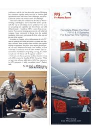 Maritime Logistics Professional Magazine, page 21,  Q4 2011 Hughey