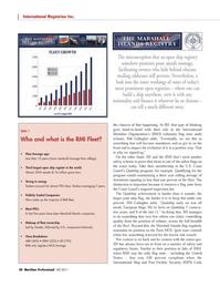 Maritime Logistics Professional Magazine, page 28,  Q4 2011 U.S. Coast Guard