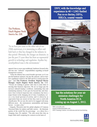 Maritime Logistics Professional Magazine, page 33,  Q4 2011 Register North America Inc.
