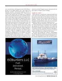 Maritime Logistics Professional Magazine, page 35,  Q4 2011 physical machinery sys