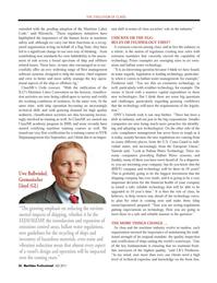 Maritime Logistics Professional Magazine, page 36,  Q4 2011 scrubber technology