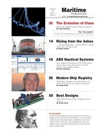 Maritime Logistics Professional Magazine, page 2,  Q4 2011 Karen Hughey