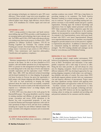 Maritime Logistics Professional Magazine, page 40,  Q4 2011 Caspian Sea