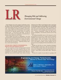 Maritime Logistics Professional Magazine, page 41,  Q4 2011 Tom Boardley