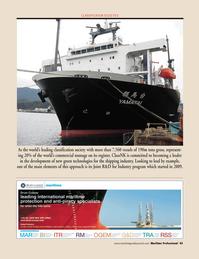 Maritime Logistics Professional Magazine, page 45,  Q4 2011 green technologies
