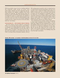 Maritime Logistics Professional Magazine, page 48,  Q4 2011 Friend of the Sea