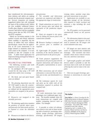 Maritime Logistics Professional Magazine, page 54,  Q4 2011 mobile computing