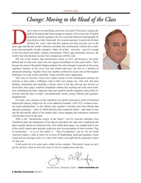 Maritime Logistics Professional Magazine, page 6,  Q4 2011 energy