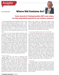 Maritime Logistics Professional Magazine, page 10,  Q1 2012