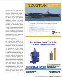Maritime Logistics Professional Magazine, page 13,  Q1 2012