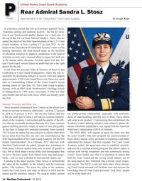 Maritime Logistics Professional Magazine, page 16,  Q1 2012 School of Management