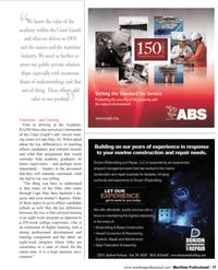 Maritime Logistics Professional Magazine, page 17,  Q1 2012