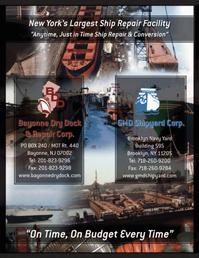 Maritime Logistics Professional Magazine, page 2nd Cover,  Q1 2012