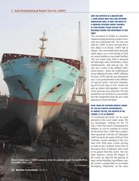 Maritime Logistics Professional Magazine, page 22,  Q1 2012