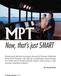 Maritime Logistics Professional Magazine, page 28,  Q1 2012