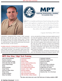 Maritime Logistics Professional Magazine, page 30,  Q1 2012 long-term solution