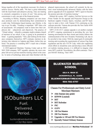 Maritime Logistics Professional Magazine, page 31,  Q1 2012