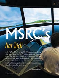 Maritime Logistics Professional Magazine, page 34,  Q1 2012
