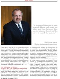 Maritime Logistics Professional Magazine, page 38,  Q1 2012