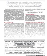 Maritime Logistics Professional Magazine, page 41,  Q1 2012