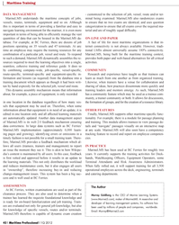 Maritime Logistics Professional Magazine, page 42,  Q1 2012