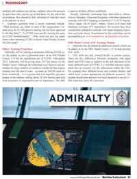 Maritime Logistics Professional Magazine, page 55,  Q1 2012