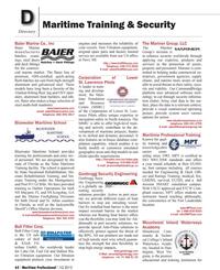 Maritime Logistics Professional Magazine, page 62,  Q1 2012