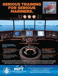 Maritime Logistics Professional Magazine, page 4th Cover,  Q1 2012
