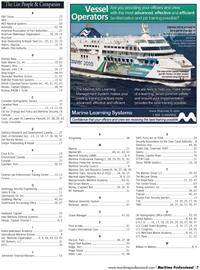 Maritime Logistics Professional Magazine, page 7,  Q1 2012