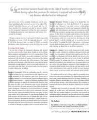 Maritime Logistics Professional Magazine, page 17,  Q2 2012