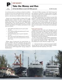 Maritime Logistics Professional Magazine, page 18,  Q2 2012 Obama Administration