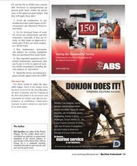 Maritime Logistics Professional Magazine, page 21,  Q2 2012