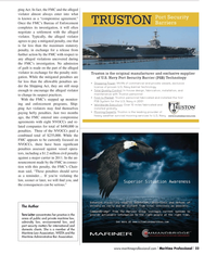 Maritime Logistics Professional Magazine, page 23,  Q2 2012
