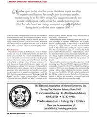 Maritime Logistics Professional Magazine, page 30,  Q2 2012 energy awareness culture
