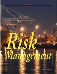 Maritime Logistics Professional Magazine, page 33,  Q2 2012
