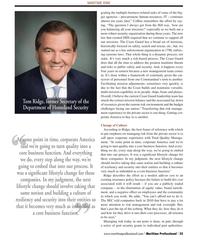 Maritime Logistics Professional Magazine, page 35,  Q2 2012 Facilitating mission