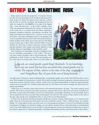 Maritime Logistics Professional Magazine, page 37,  Q2 2012