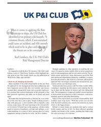 Maritime Logistics Professional Magazine, page 43,  Q2 2012 oil leaks