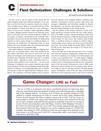 Maritime Logistics Professional Magazine, page 50,  Q2 2012 Clarksea Daily Freight