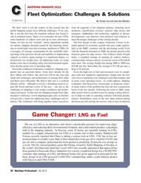 Maritime Logistics Professional Magazine, page 50,  Q2 2012