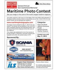 Maritime Logistics Professional Magazine, page 55,  Q2 2012