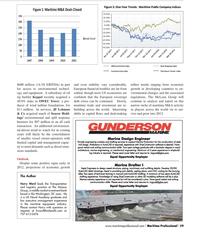 Maritime Logistics Professional Magazine, page 59,  Q2 2012 middle market investment bank